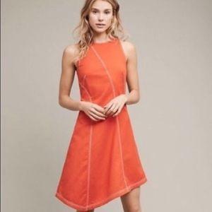 NWT Anthropologie Cool Asymmetrical Dress